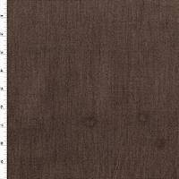 *7 YD PC--Tobacco Brown Grospoint Textured Decorating Fabric