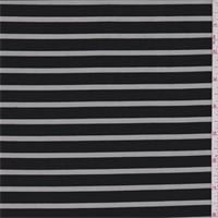 *2 5/8 YD PC--Black Stripe Burnout Activewear