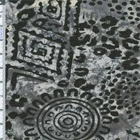 *4 5/8 YD PC--Black/Gray Cheetah Jaguar