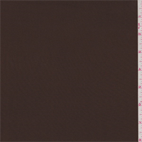 *3 5/8 YD PC--Chocolate Brown Activewear Jersey Knit