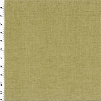 *1 1/4 YD PC--Moss Beige Chenille Home Decorating Fabric