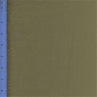 *1 1/4 YD PC--Chenille Empress Olive Green Home Decorating Fabric