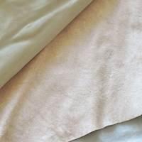 Antique Beige Textured Leather Hide