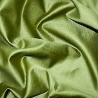 *2 3/4 YD PC -- Lux Apple Green Twill Woven Decorating Fabric