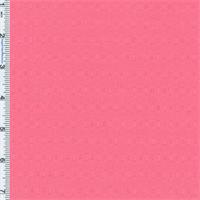 *3 1/8 YD PC--Pink Aubrey Dobby Weave Shirting