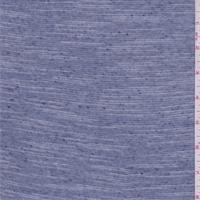*2 YD PC--Chambray Blue Stripe Sweater Knit
