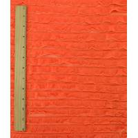 *1 7/8 YD PC--Orange Ruffle Knit