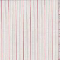 White/Fire Stripe Cotton