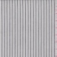 White/Slate Stripe Cotton