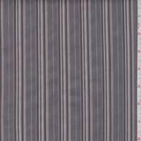 Pewter/Taupe Stripe Shirting