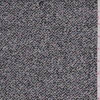 Black/White Speck Brushed Jacketing