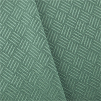 *3 YD PC--Dusty Turquoise Crosshatch Jacquard Home Decorating Fabric