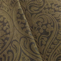 *6 YD PC--Cedar Brown Swavelle Marudi Jacquard Home Decorating Fabric