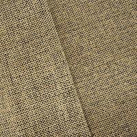 *5 1/4 YD PC--Black/Warm Beige Textured Basketweave Home Decorating Fabric