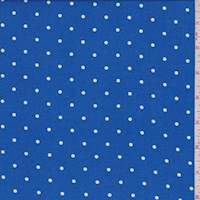 Royal Pin Dot Rayon Challis
