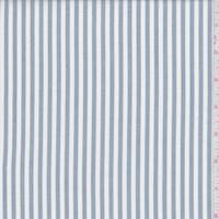 Cloud Blue/White Stripe Shirting