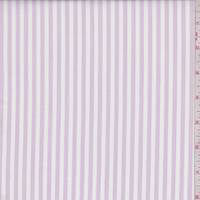 Orchid Pink/White Stripe Shirting