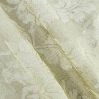 *1 YD PC--Natural Beige Floral Bleach Printed Drapery Fabric