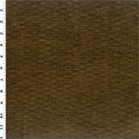 *6 YD PC--Saddle Brown Marina Chenille Home Decorating Fabric
