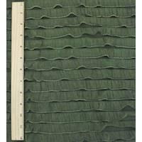 *1 YD PC--Cedar Green Ruffle Knit
