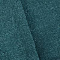 Ocean Blue Cotton Textured Slub Woven Decorating Fabric