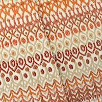 Red/Orange/Multi Papago Jacquard Woven Decorating Fabric