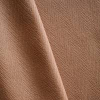*1 5/8 YD PC--Toffee Brown Wool Blend Textured Chevron Jacquard Jacketing