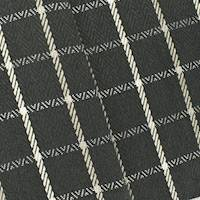 Black/White Herringbone Plaid Home Decorating Fabric