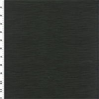 *1 YD PC--Designer Caviar Black Pleated Taffeta Decorating Fabric