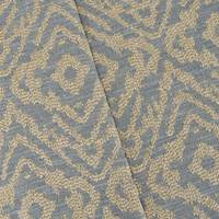 Cool Gunmetal/Beige Texture Diamond Jacquard Decor Fabric