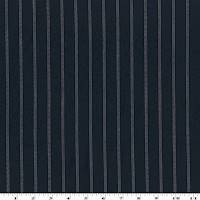 *7 1/2 YD PC--Dark Ink Blue/White Stripe Dobby Crepe Shirting