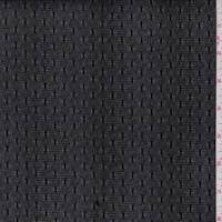 *1 YD PC--Black Velvet Flocked Mesh