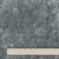 *2 1/2 YD PC--Lead Gray Cheetah Jacquard Stretch Denim