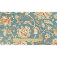 *1 YD PC--Stone Blue/Ginger/Ivory P Kaufmann Floral Print Decor Fabric