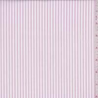 Pink/White Stripe Cotton