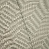 *1 1/8 YD PC -- Gray/Beige Indoor/Outdoor Textured Twill Decorating Fabric