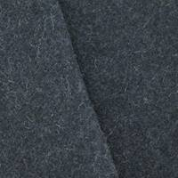 *1 3/8 YD PC--Midnight Blue Textured Wool Blend Doubleweave Coating