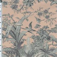 *2 1/2 YD PC--Pavillion Floral American Folk & Fabric