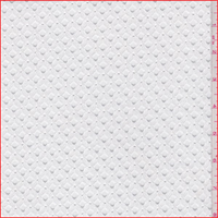 *1 1/4 YD PC--White Teardrop Lace