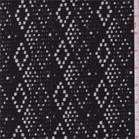 *1 YD PC--Black/White Diamond Boucle Coating