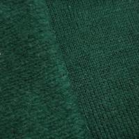 *1 1/2 YD PC--Forest Green Brushed Wool Blend Texture Back Sweater Knit