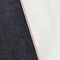 *4 3/8 YD PC--True Navy Blue Cotton Japanese Selvedge Denim