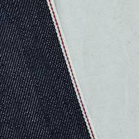 *3 1/2 YD PC--Night Inked Blue Cotton Japanese Selvedge Denim