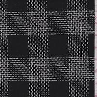*2 1/4 YD PC--Black/White Check Coating