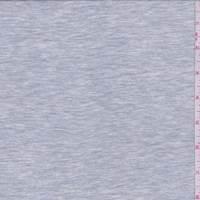 *2 1/8 YD PC--Heather Blue Grey T-Shirt Knit