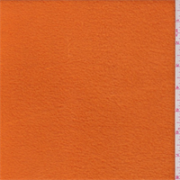 *1 YD PC--Orange Polyester Fleece