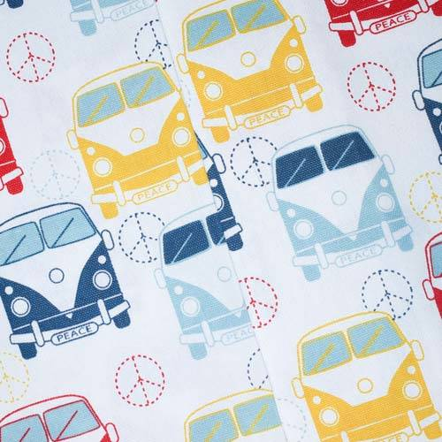 TealMulti Premier Aircraft Printed Canvas Decor Fabric Fabric By The Yard