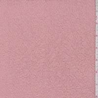 Melon Pink 2-Ply Puckered Knit