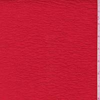Red 2-Ply Puckered Knit