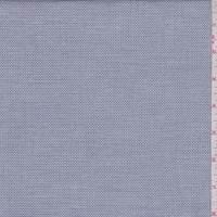 Indigo Blue Pique Shirting